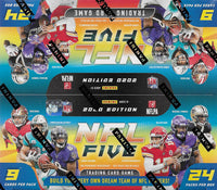 2020 Panini NFL Five Football Factory Sealed Booster Box