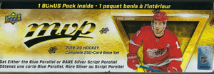 2019 2020 Upper Deck MVP Hockey Factory Set with Shortprints and Bonus Inserts