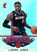 2012 2013 Panini MARQUEE Basketball Series Complete Mint Basic 100 Card Set with Lebron James Plus