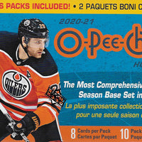 2020 2021 Upper Deck O-Pee-Chee Hockey Series Blaster Box with EXCLUSIVE Yellow Bordered Tallboys