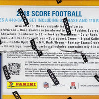 2018 SCORE Football Sealed Retail 24 Pack Box