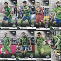 Seattle Sounders FC 2019 Topps Factory Sealed Team Set