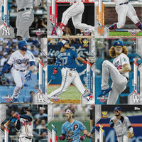 2020 Topps Opening Day Baseball Series Complete 200 Card Set With Stars and Rookies