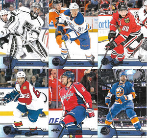 2016 2017 Upper Deck Hockey Series One Base Set