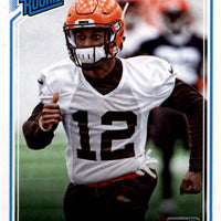 Denzel Ward 2018 Donruss RATED ROOKIE Mint Card #348