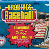 2018 Topps ARCHIVES Baseball Series Sealed 16 Blaster Box CASE 32 EXCLUSIVE COINS