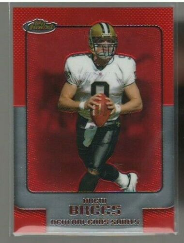 Drew Brees 2006 Topps Finest Football Series Mint Card #70