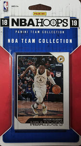 Indiana Pacers 2018 2019 Hoops Factory Sealed Team Set