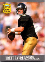 Brett Favre 1991 Fleer Ultra Draft Picks Series Mint Rookie Card #283