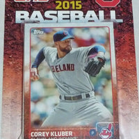Cleveland Indians 2015 Topps Factory Sealed 17 Card Team Set