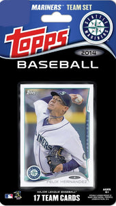 Seattle Mariners  2014 Topps Factory Sealed 17 Card Team Set