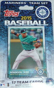 Seattle Mariners  2015 Topps Factory Sealed 17 Card Team Set