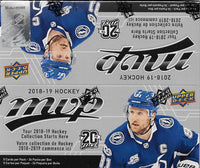2018 2019 Upper Deck MVP Hockey Retail Box