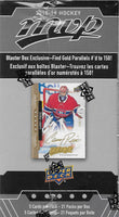 2018 2019 Upper Deck MVP NHL Hockey Blaster Box with Gold Parallel Exclusives