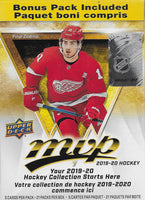 2019 2020 Upper Deck MVP NHL Hockey Blaster Box with Gold Parallel Exclusives