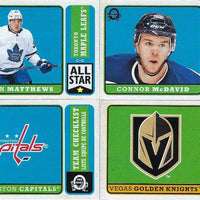 2018 2019 O Pee Chee OPC Hockey Complete Mint 600 Card Set with Shortprinted Rookies and Stars