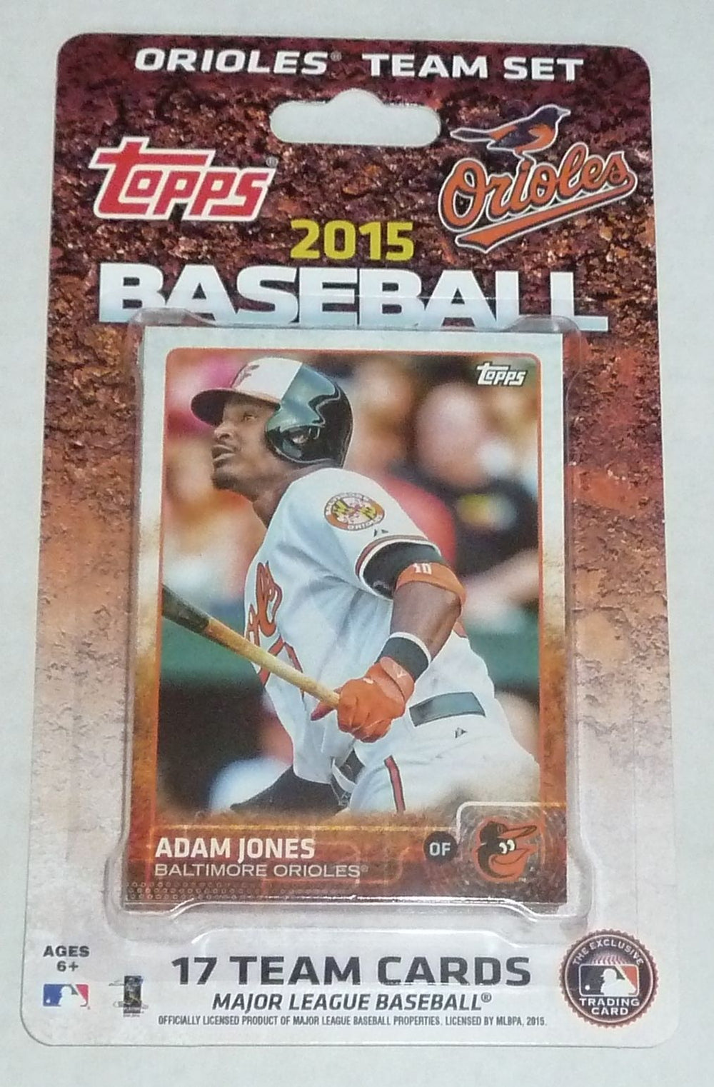 Baltimore Orioles   2015 Topps Factory Sealed 17 Card Team Set