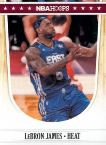 LeBron James 2011 2012 Hoops Basketball Series Mint Card #250