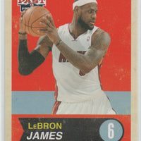 LeBron James 2012 2013 Panini Past & Present Basketball Series Mint Card #40
