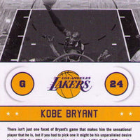 Kobe Bryant 2013 2014 Hoops Above the Rim Basketball Series Mint Card #16