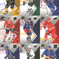2015 2016 Upper Deck SPx Hockey Series Basic 60 Card Set with Sidney Crosby, Wayne Gretzky Plus