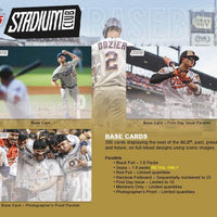 2018 Topps STADIUM CLUB Baseball Retail 24 Pack Box