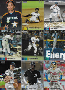 2020 Topps STADIUM CLUB Baseball Series Set featuring Randy Arozarena Rookie plus Stars and Hall of Famers