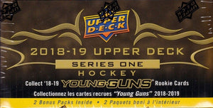 2018 / 2019 Upper Deck Series One Factory Sealed Unopened Tin