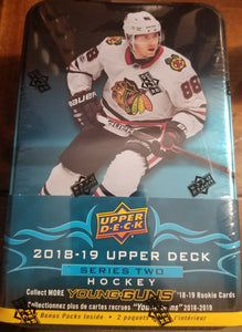 2018 / 2019 Upper Deck Series Two Factory Sealed Unopened Tin