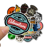 Sticker Ordinateur <br> Aventure