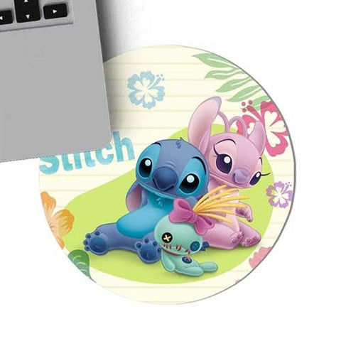 Tapis de Souris Stitch & Angel