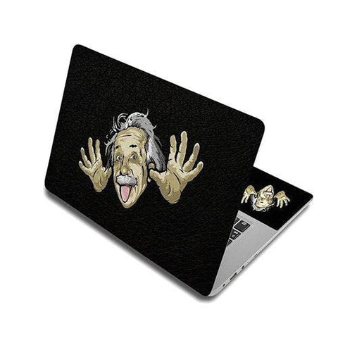 Stickers Ordinateur Portable Albert Einstein