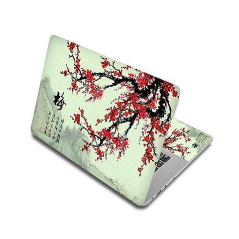 Stickers Ordinateur Portable Cerisier Japonais
