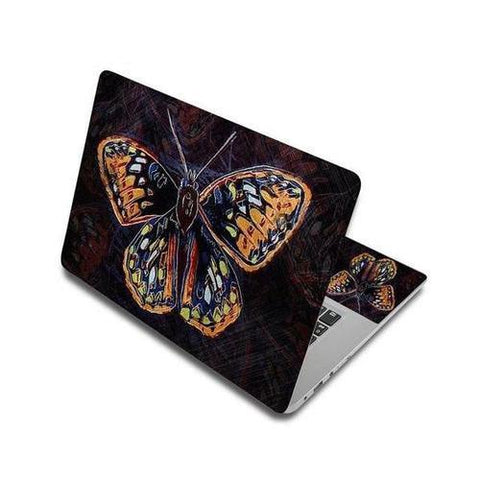 Stickers Ordinateur Portable Dessin Papillon