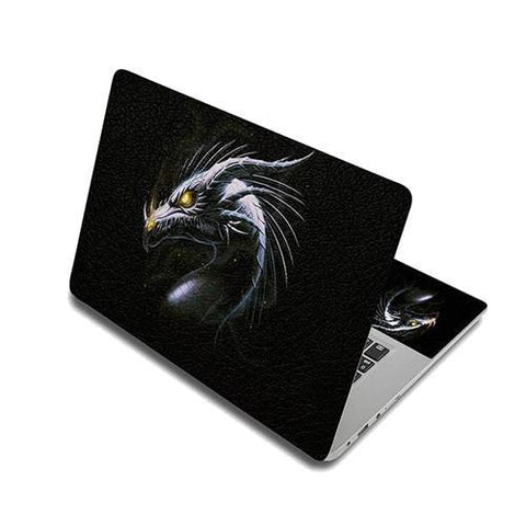 Stickers Ordinateur Portable Dragon Sanginaire