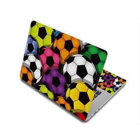 Stickers Ordinateur Portable Football