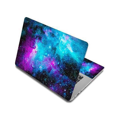 Stickers Ordinateur Portable Galaxie Infinie