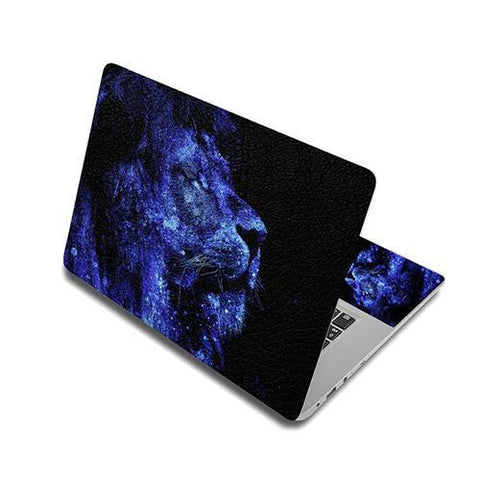 Stickers Ordinateur Portable Lion Céleste