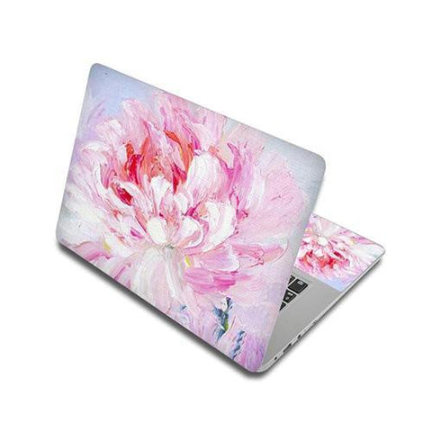 Stickers Ordinateur Portable Pivoine Flamboyante