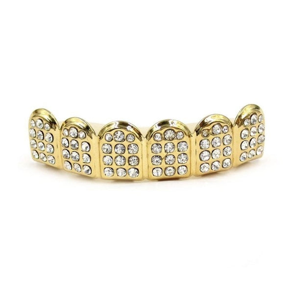 Iced out HoneyComb Grillz