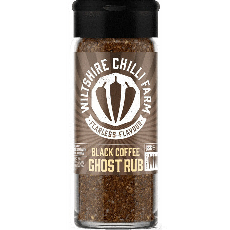 Wiltshire Chilli Farm  Black Coffee Ghost Rub
