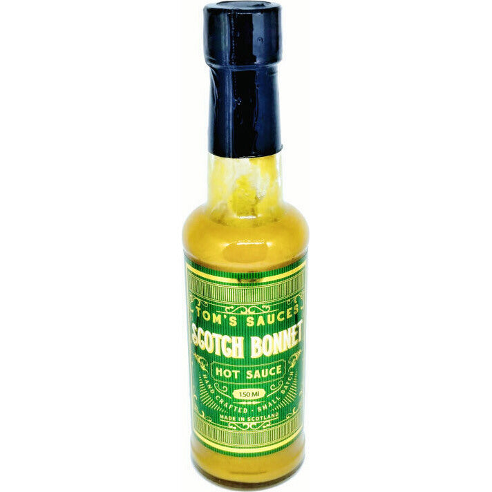 Tom's Sauces  Scotch Bonnet Hot Sauce