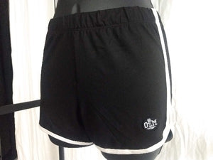ROTM Women's Black and White Shorts