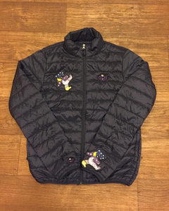 Rotm Navy Blue & Purple Trippy Bear Jacket