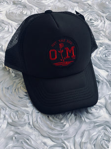 Rotm Black & Red Mesh Hat.