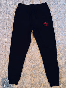 Rotm Black, Red, & White Joggers