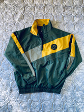 Load image into Gallery viewer, Rotm Green, Yellow And Gray Swishy Track Suit.