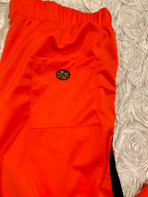 Load image into Gallery viewer, Rotm Orange & Black Jogger Pants With Front & Back Logo