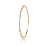 Gold Plated Zircon Bangle