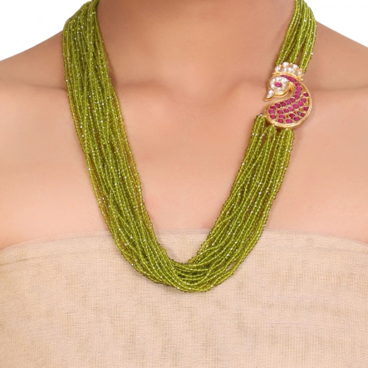 GOLD PLATED SHRUTIPAT GOLD NECKLACE